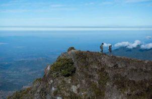 Cima del Volcán Barú.