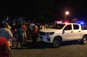 Muerte por atropello en Capira. Foto/Tráfico C Panamá
