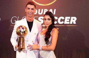 Cristiano Ronaldo y Georgina Rodríguez. Foto:@georginagio