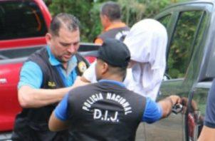 El  hecho delictivo registrado el 24 de noviembre en el sector del Valle de Las Lomas en el distrito de David. Foto/Mayra Madrid