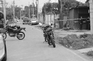 El año termina con una ofensiva delincuencial y a pesar de los esfuerzos de la Policía, se respira un ambiente de inseguridad ciudadana. Foto: Archivo. Epasa.