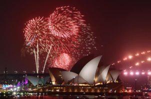 En gran parte de Australia se suspendieron las actividades para rebir el Año Nuevo, por los incendios forestales. FOTO/EFE