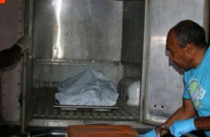 Uno de los trabajadores de la finca encontró al hombre colgado. Foto: Mayra Madrid.