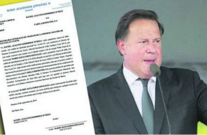 Como primer testigo dentro de este proceso se ha citado al exmandatario Juan Carlos Varela.