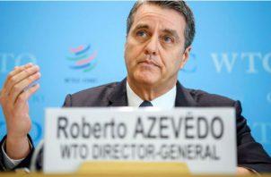 Roberto Azevêdo, director general de la OMC. Foto/EFE