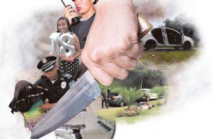 El mandatario aseguró que pondrán más policías en las calles. Ilustración: Panamá América.