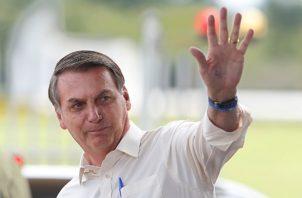 Presidente de Brasil Jair Bolsonaro. FOTO/AP
