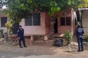 El lugar se mantiene bajo vigilancia policial. Foto: Thays Domínguez.