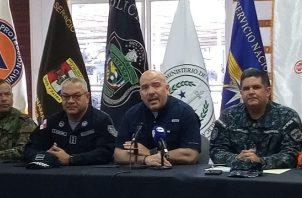 El ministro de Seguridad, Rolando Mirones anunció la suspensión de las vacaciones de las unidades que conforman los estamentos de seguridad.