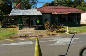 Investigan caso de robo en Chiriquí. Foto/José Vásquez