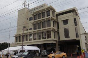 Sede del Servicio Nacional de Migración.