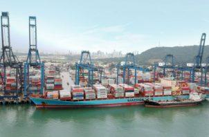 La empresa Hutchison Ports PPC administra los puertos de Balboa y Cristóbal. Foto: Archivo.