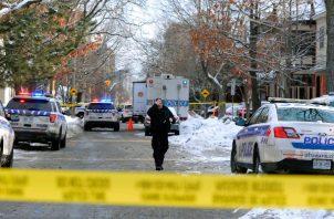 Las autoridades canadienses no han indicado el posible motivo del tiroteo o la identidad de las víctimas. FOTO/AP