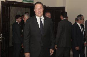 Juan Carlos Varela, expresidente de Panamá, durante el periodo 2014-2019. Archivo