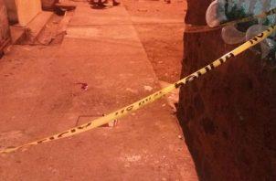 El crimen fue en las afueras de Colón. Foto: Diómedes Sánchez S.