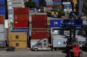 En materia marítima, Panamá muestra un estancamiento en el movimiento de carga. Archivo