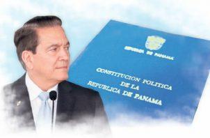 Laurentino Cortizo fue quien solicitó el retiro de las reformas constitucionales.