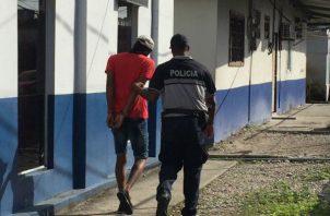 Un menor fue aprehendido por este caso, que vivía cerca de la víctima.  Foto: Diómedes Sánchez S.