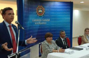 Presentación de los nuevos fiscalizadores. Foto/ Víctor Arosemena