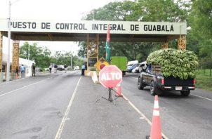 Puesto de Control Integral de Guabalá. Foto: Archivo