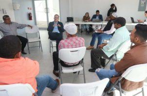 Mida escucha las inquietudes de los productores y evaluar las condiciones del sector. Foto/Cortesía