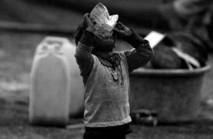 Los diferentes resultados que demuestra la crisis civilizatoria del sistema mundo tienen rostro, y son rostros de mujeres, afrodescendientes, indígenas e infantes. Foto: EFE