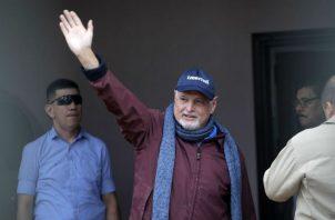 El expresidente Ricardo Martinelli fue declarado no culpable en el caso de los 'pinchazos telefónicos'. Foto: Panamá América.