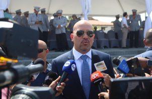 Rolando Mirones señaló que este año se va a tomar otras medidas para combatir la criminalidad. Foto: Víctor Ar