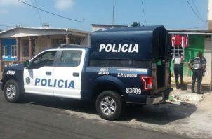 Los vecinos escucharon los disparos y llamaron a la Policía. Foto: Diómedes Sánchez S.