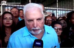 Ricardo Martinelli Berrocal fue presidente de Panamá de 2009 hasta 2014. Archivo