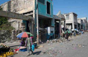 Terremoto dejó más de 300 mil muertos en Haití. Foto/EFE