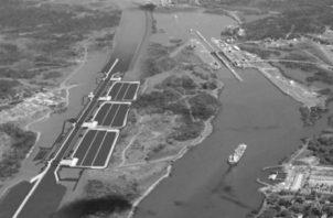 El diseño de tinas de reciclaje de agua usado para la ampliación del canal, tiene el inconveniente que solo permite reciclar un 60% del agua como máximo, pero no siempre se logra. Foto: Archivo.