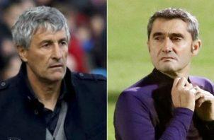Quieque Setién es el reemplazo de Valverde Foto EFE