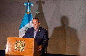 Alejandro Giammattei. FOTO/AP