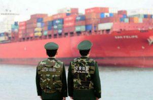 El contexto comercial estuvo marcado por esta 'guerra'. Foto: EFE.