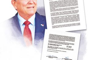 Carta enviada por miembros del PRD a Laurentino Cortizo.