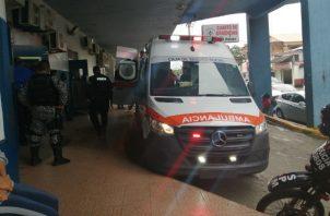 El niño fue llevado por el conductor al hospital, pero falleció. Foto: Diómedes Sánchez S.