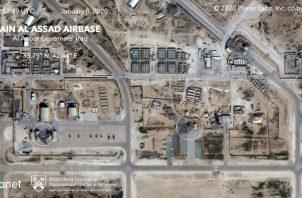 Daños a instalaciones militares. FOTO/EFE