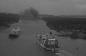 El agua del Canal de Panamá es dulce, procede del gran reservorio que es el lago Gatún, un lago artificial de 435 kilómetros cuadrados que almacena el agua del río Chagres y de su cuenca. Foto: Archivo.