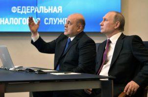 Putin ha propuesto cambios constitucionales para continuar gobernando. Foto: EFE