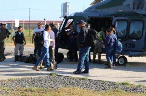 La mayoría de los evacuados tenían golpes, heridas y contusiones con objetos contundentes.