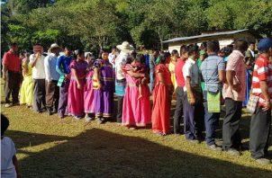 La única que ha cumplido con los parámetros legales es La religión Mama Tatda (madre virgen), que surgió el 22 de septiembre de 1962 en el área comarcal.