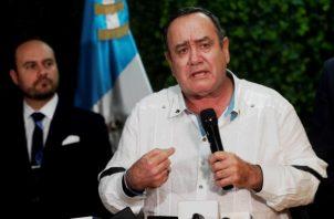 Alejandro Giammattei, tomó  posesión el pasado martes como presidente de Guatemala. FOTO/EFE