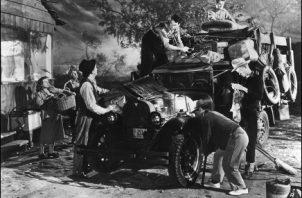 """Un filme extraordinario, """"Las uvas de la ira"""". Pueden verlo en la Biblioteca Nacional el sábado 18 de enero.Foto: lamanodelextranjero.com"""