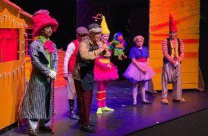 Con canciones de David Colindres y coreografías de Carlos Díaz, está en cartelera en Teatro Pacific la obra infantil 'La Casa de Paco'. Foto: Cortesía