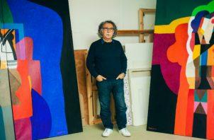 Dia al-Azzawi es pintor y coleccionista y ha prestado casi 40 obras al MoMA PS1 para una exhibición. Foto / Ellie Smith para The New York Times.