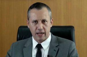 Roberto Alvim, fue destituido por Bolsonaro, por emular al que fuera el ministro de Propaganda de Hitler. Foto: EFE.