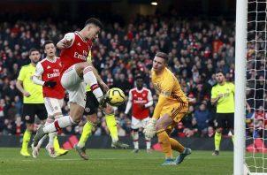 Martinelli anota para Arsenal. Foto:AP