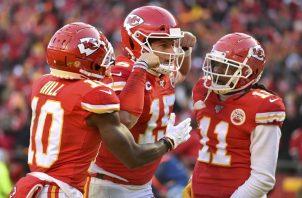 Chiefs están a un paso de la gloria.