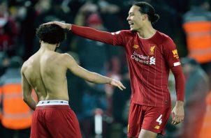 Mohamed Salah y Virgil Van Dijk fueron protagonistas.